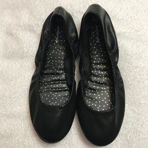 Time and Tru Flats Ballerina Scrunched Shoes 8W